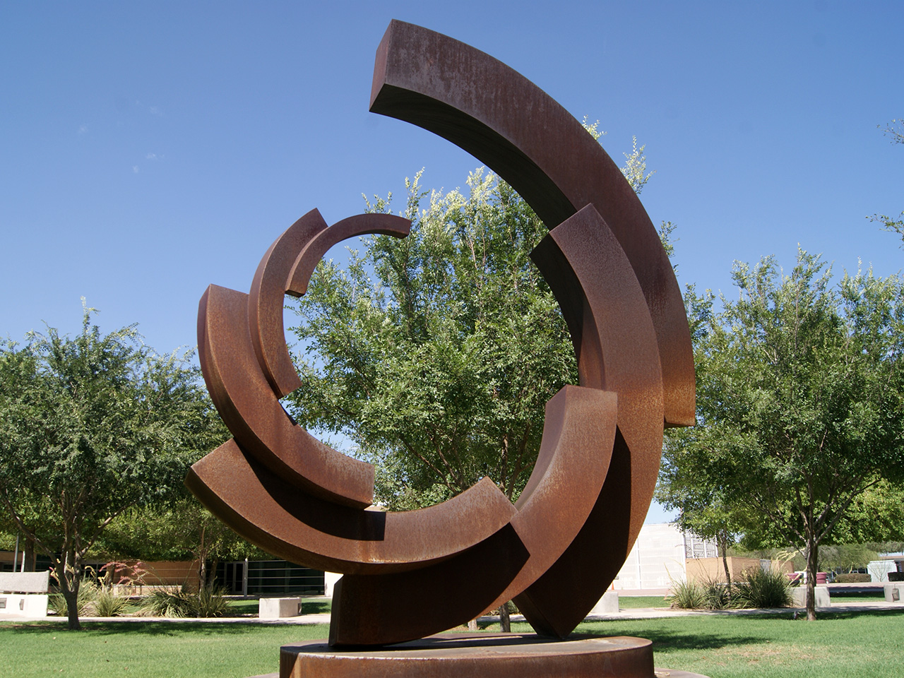 quarter ring sculpture