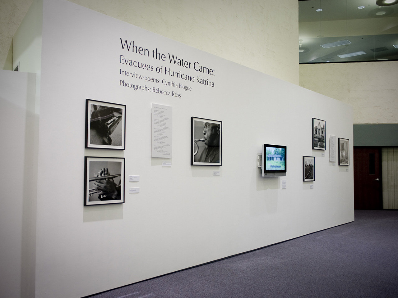 when the water came exhibition