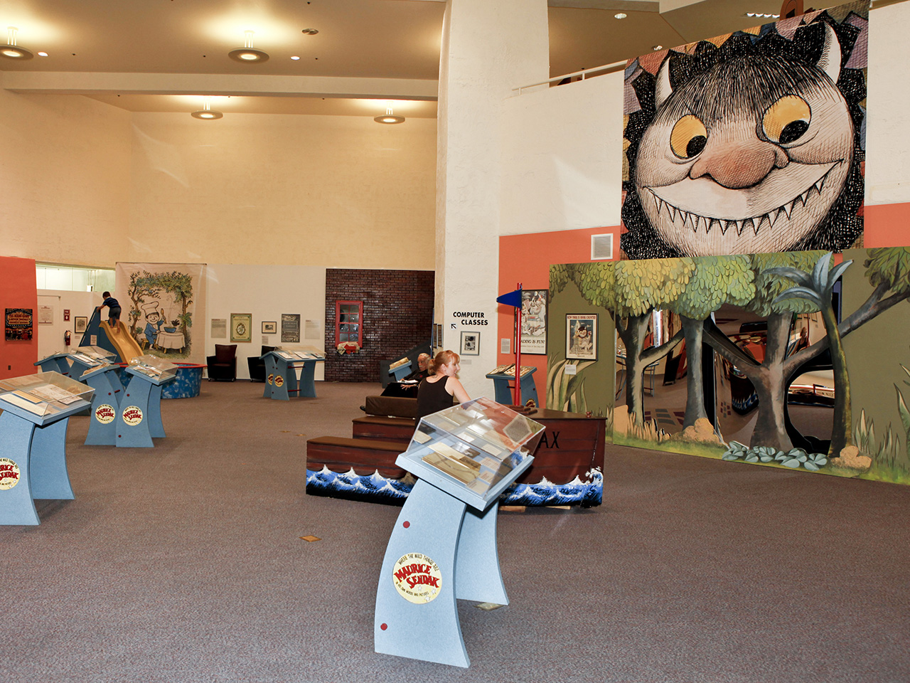 sendak exhibition by jesse tallman inside exhibition