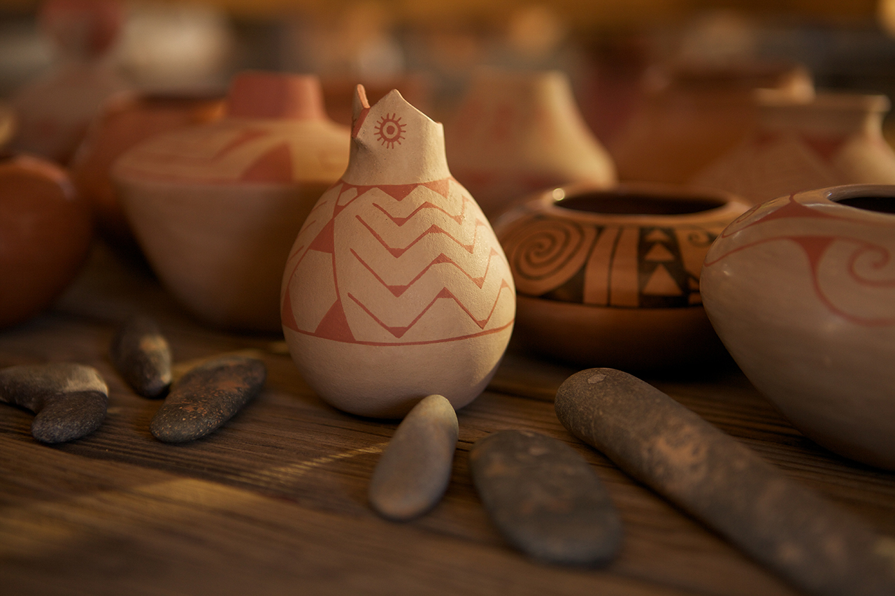 beautiful clay pottery work
