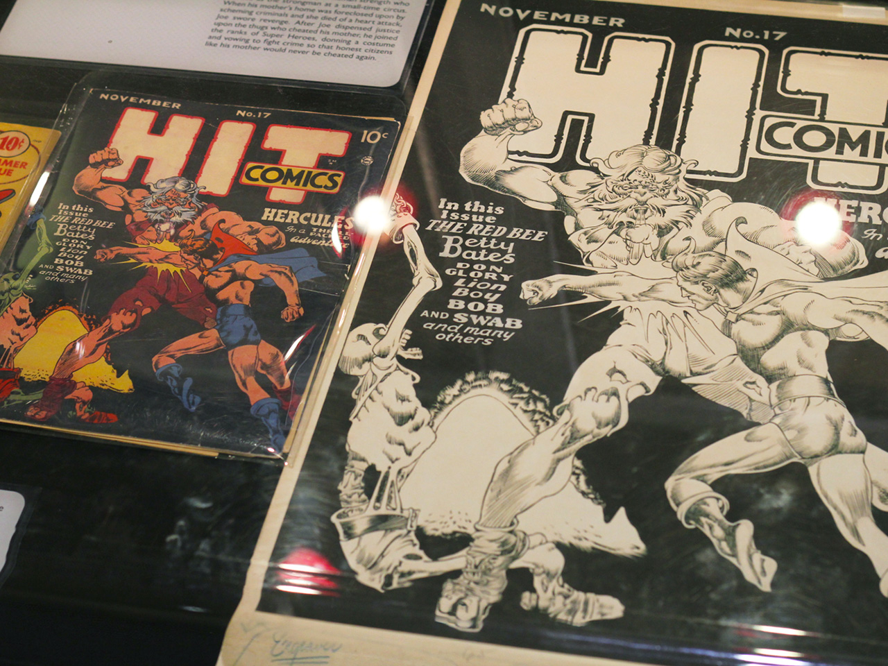 zap pow bam exhibition comic books