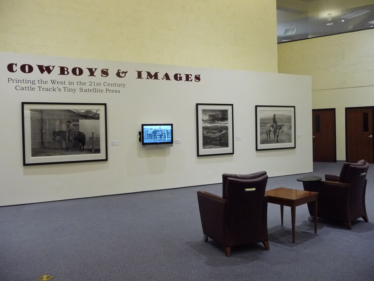 cowboys and images exhibit