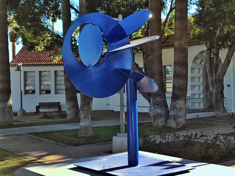 Ziggy's Sister sculpture at Scottsdale Artists' School