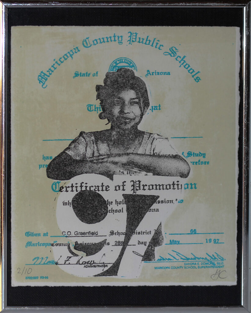 An image of 8th Grade Promotion Certificate by Gloria Martinez-Granados