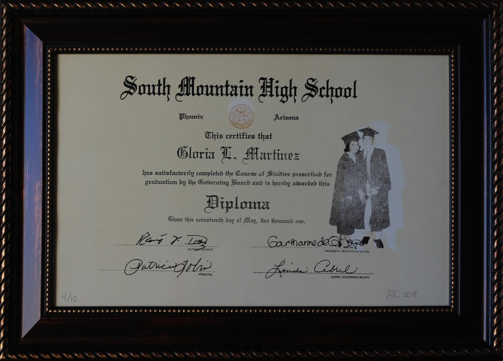 An image of HS Diploma by Gloria Martinez-Granados