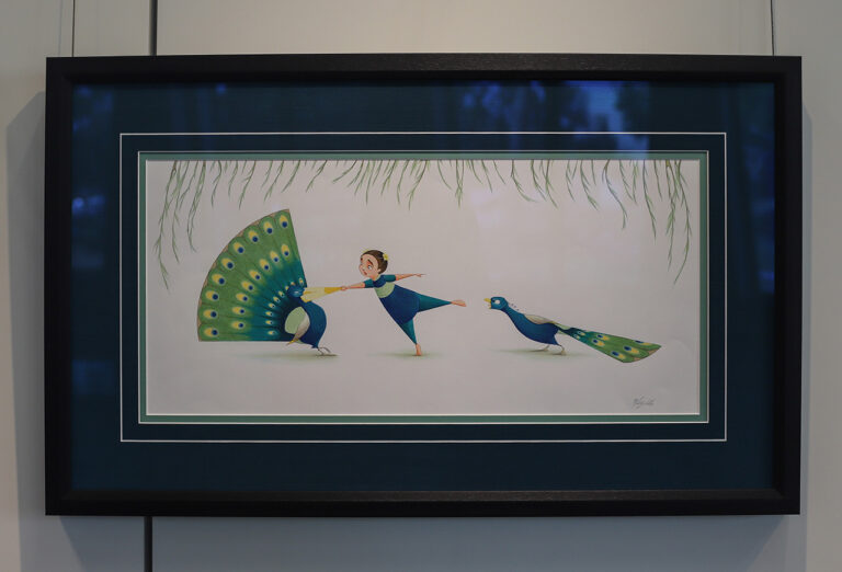 Flora and the Peacocks by Molly Idle